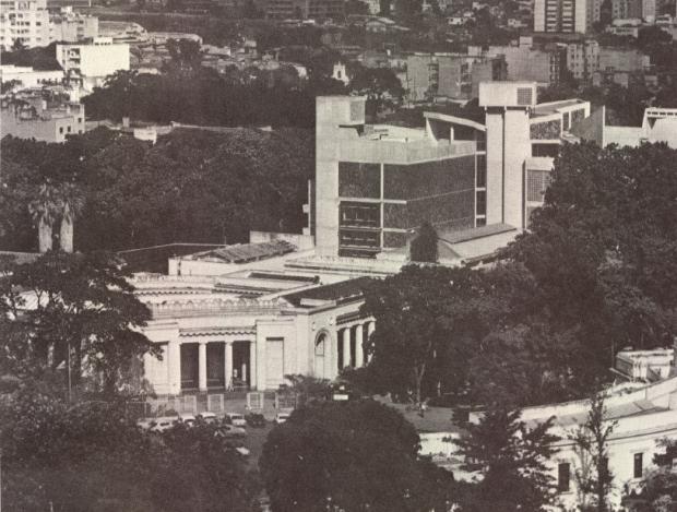 Museo de Bellas Artes (MBA). Caracas, Venezuela