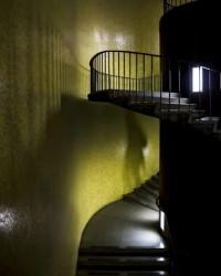 escaleras de la sala de lectura de la biblioteca central ciudad foto pierre dumont cortesa archivo copred