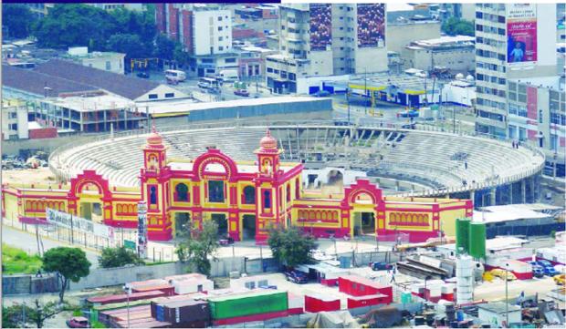 Plaza de toros del Nuevo Circo de Caracas