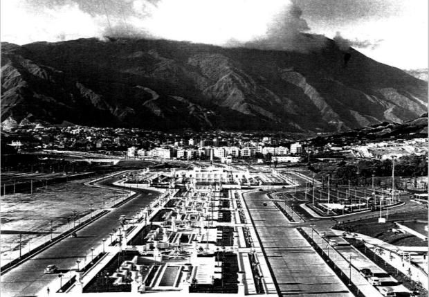 Foto: archivo CIC-UCAB. 1956.