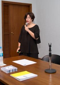 Leyla Cuenca. Seminario Maczul. Foto Raúl Chirino