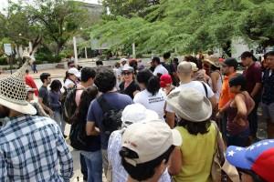 Recorrido Seminario Maczul. Foto Raúl Chirino