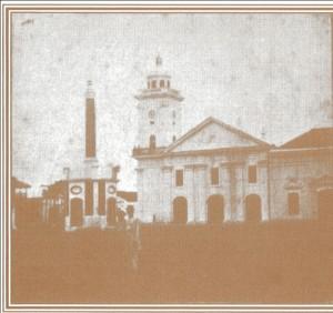 Catedral de San Pedro y San Pablo en el siglo XIX
