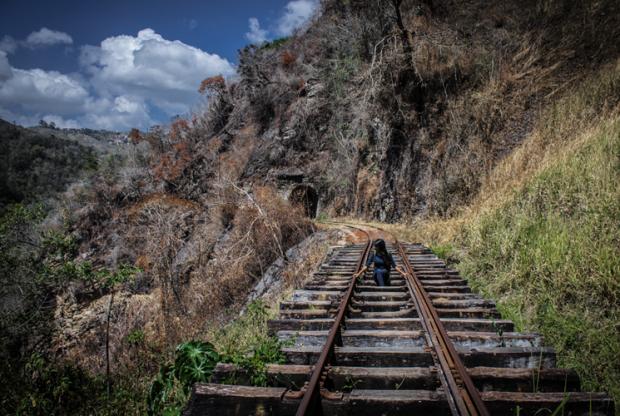 Puente del antiguo Ferrocarril de Venezuela. Foto Nohely Ron.