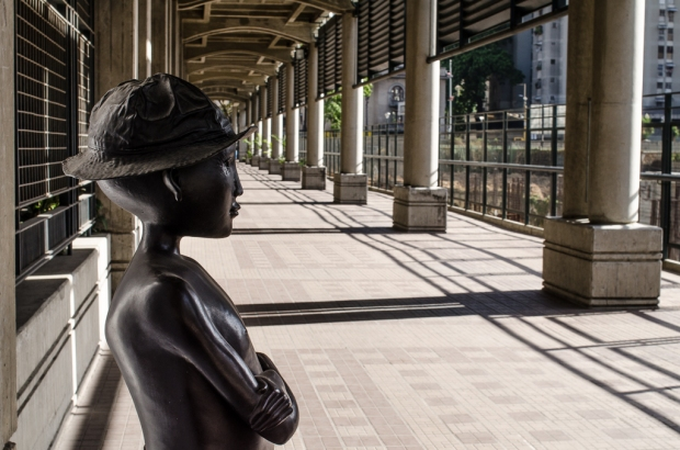Obra de Cornelis Zitman. Galería de Arte Nacional. Caracas. Foto Luis Chacín