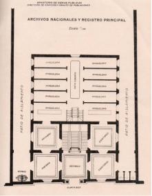 Archivo General de la Nación. Planta.