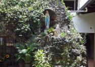 Imagen de la Virgen de Lourdes y Bernardette. Foto: Alejandra Suárez.