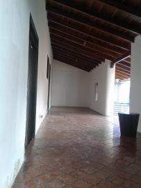 Pasillo original donde están las dos habitaciones originales de la casa. Foto: Alejandra Suárez.