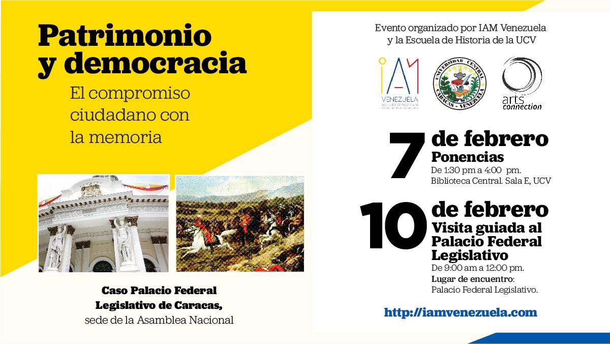 Thumbnail for Evento: Patrimonio y democracia: El compromiso ciudadano con la memoria