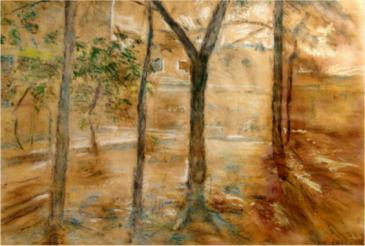 paisaje_patio_del_sanatorio_san_jorge_1953
