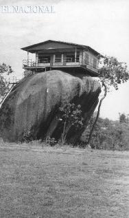 Foto de la época de su construcción.
