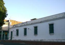 El inmueble, con la típica construcción de la época, de cal y bahareque. Foto Guillermo Ramos F.