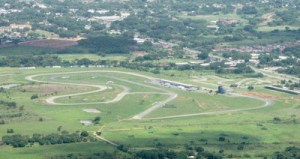 Vista aérea del Autódromo Internacional de San Carlos.