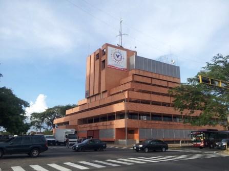 Edificio sede de la CVG. Foto Freddy Vargas.