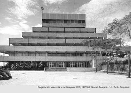 Fachada de la sede de la CVG. Foto Paolo Gasparini.
