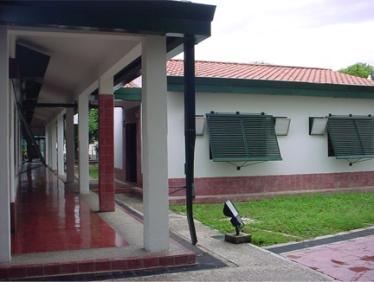 Exterior del edificio Exposición Permanente. Foto V. Sánchez Taffur.