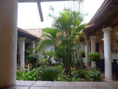 Jardín interno. Fotos Marinela Araque.