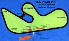 Mapa del autódromo.