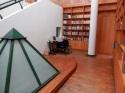 Vista interna de la biblioteca. Foto V. Sánchez Taffur.