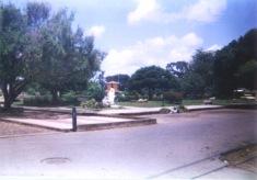 La plaza en el año 2002. Foto Eudhen Perdomo..