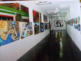 Sala de exhibición permanente del MAVHA. Foto Marinela Araque.
