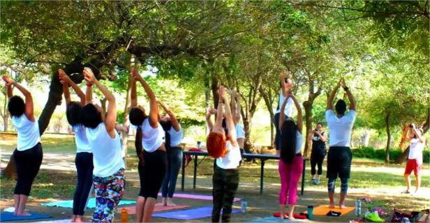 Diversas actividades se desarrollan en las instalaciones del jardín. Foto Diariorepública.