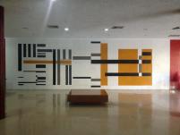 Carlos Gonxález Bogen, Mural. Biblioteca Central UCV. Foto: Mayerling Zapata López.