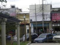 Vista del antiguo cuartel desde la calle Soublette, por el este. Foto HistoriasdeMaracay, 2011.