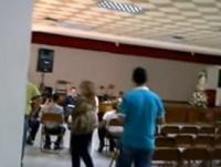 Auditorio del colegio Madre Ràfols, en Valera, Trujillo. Venezuela.