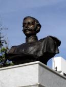 Busto del coronel José Antonio Rangel recién restaurado, diciembre 2006. Foto Samuel Hurtado Camargo