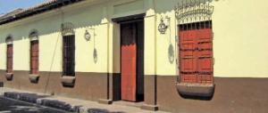 Una de las edificaciones coloniales del casco histórico de San Sebastián de Los Reyes, patrimonio cultural de Venezuela.