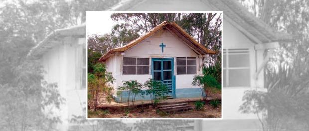 Cementerio y capilla antigua de El Topón, estado Táchira.