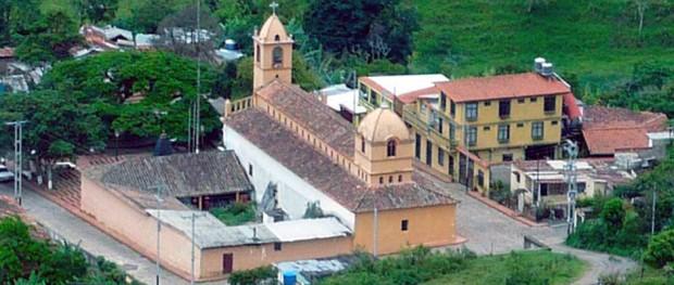 Iglesia de Toituna, municipio Guásimos del estado Táchira.
