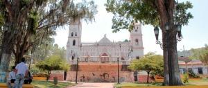 La iglesia San Pedro de Capacho, construida en 1875. Táchira, Venezuela.