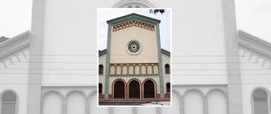 Iglesia San Pedro, de la ciudad de Valera, estado Trujillo. Venezuela.