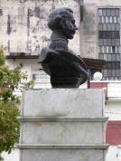 Lateral derecho del busto de Rangel, 7 de mayo de 2017. Foto Samuel Hurtado Camargo