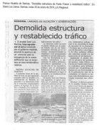 Información de prensa del expediente elevado al IPC sobre la intervención de la redoma de Punto Fresco, Barinas.