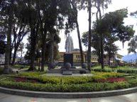 Otra vista de la cara frontal del monumento a Sucre. Foto Samuel Hurtado Camargo, 28 de mayo de 2017