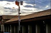 Techo del Mercado municipal de Capacho. Municipio Independencia, estado Táchira. Venezjuela.