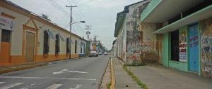 Calle Bolívar antigua calle Real, centro histórico de Barinas. Patrimonio cultural de Venezuela.