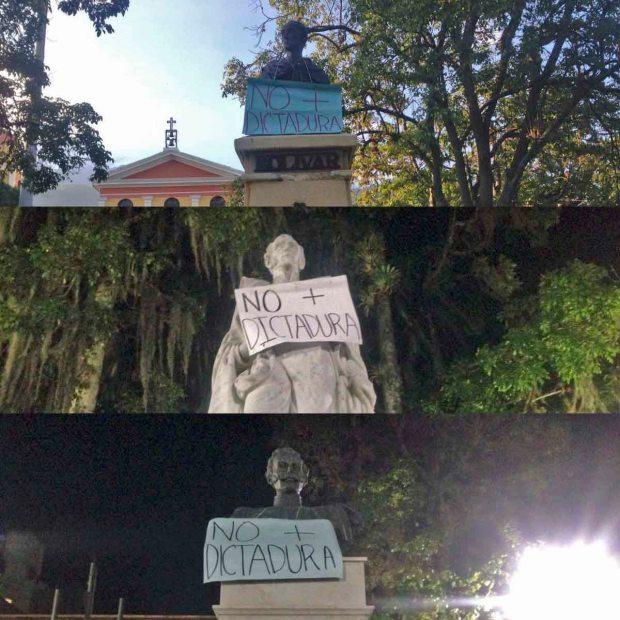 Protestas en Venezuela y apropiación de símbolos culturales.