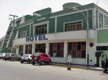 Con esta fachada fue declarado Bien de Interes Cultural el Hotel internacional. Archivo Cronista Barinas. 2010