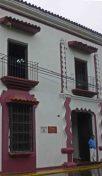 Vista de ventanas y puertas de Casacoima, monumento histórico nacional. de Venezuela. Patrimonio cultural del estado Portuguesa.