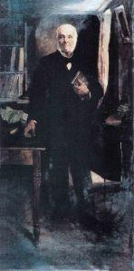 El doctor Caracciolo Parra y Olmedo, óleo sobre tela de Tito Salas, 1918. Colección Universidad de Los Andes. Mérida, Venezuela.