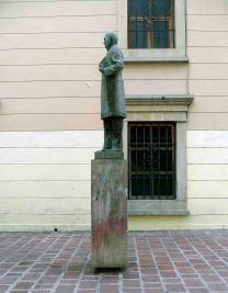 Monumento al Rector Heróico. Patrimonio de Mérida, Venezuela.