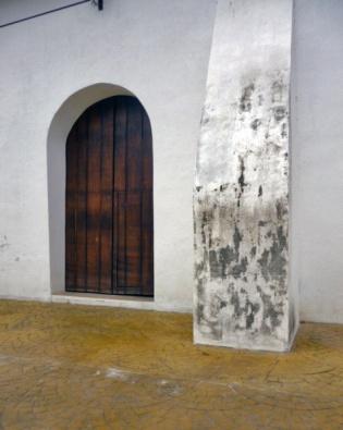 la iglesia San Nicolás de Bari, monumento histórico nacional de Venezuela.