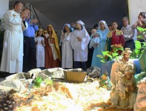 Paradura del Niño, tradición navideña de los Andes venezolanos.