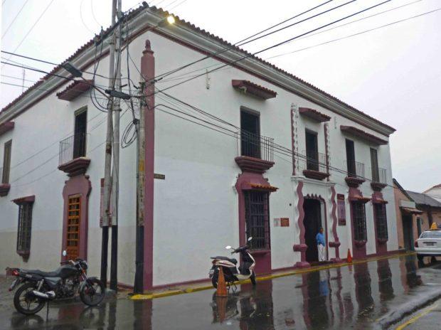 Vista de Casacoima tras su restauración de 2012. Monumento histórico nacional. Patrimonio cultural de Portuguesa, Venezuela.