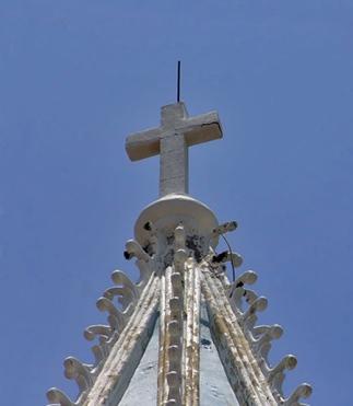 Iglesia Santa Lucía, patrimonio en peligro. Maracaibo, estado Zulia. Venezuela.