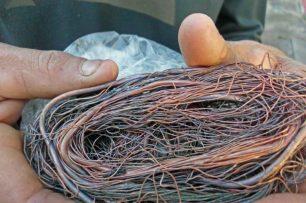Cableado de cobre que se llevan de contrabando a Colombia desde Venezuela. Patrimonio cultural venezolano en riesgo.